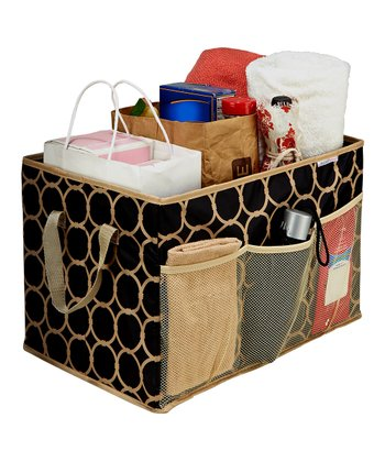 Black & Tan Hula Collapsible Trunk Organizer