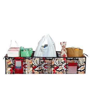 Serena Brit Three-Compartment Trunk Organizer