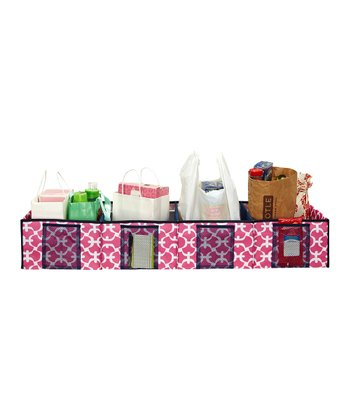 Pink Scout Shopping Trunk Organizer