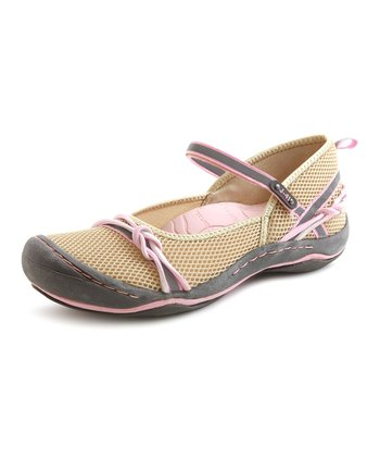 Tan & Petal Misty Water Shoe