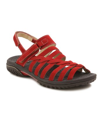 Red Holly Sandal