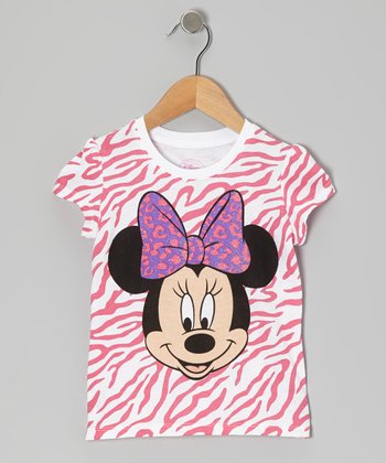 Pink Minnie Tee - Toddler