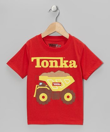Red 'Tonka' Tee - Infant & Toddler