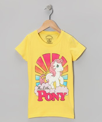 Yellow Rainbow 'My Little Pony' Tee - Girls