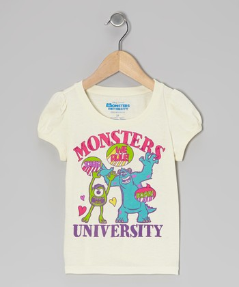 Cream 'Monsters University' Tee - Infant & Toddler