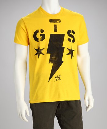 Yellow 'GTS' Tee - Men