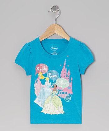 Blue Princess 'Happily Ever After' Tee - Toddler