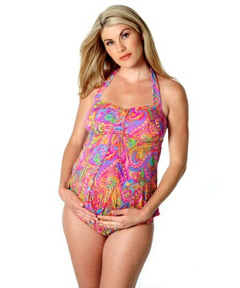 Hippie Chic Maternity Sweetheart Two-Piece Swimsuit