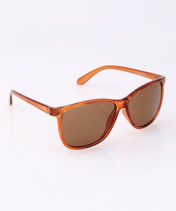 Brown Translucent Sunglasses