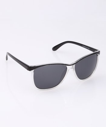 Crystal Clear Rim Sunglasses