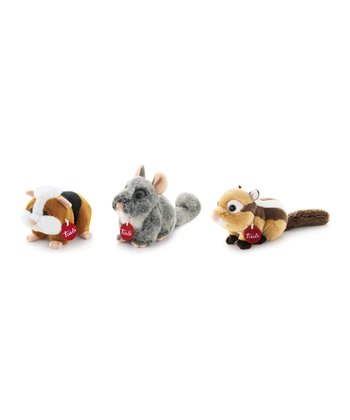 Woodland Nibbler Plush Toy Set