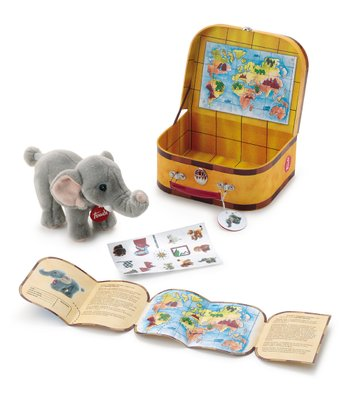 Giramondo Elephant Plush Toy Set