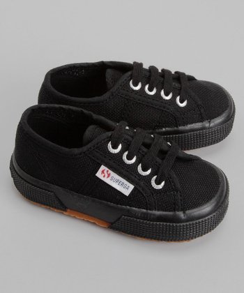 Black Lace-Up 2750 Classic Sneaker - Toddler & Kids
