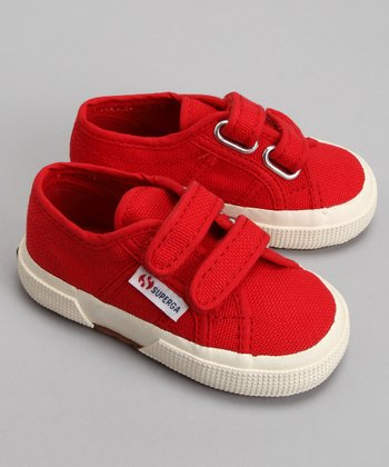 Red Velcro 2750 Classic Sneaker - Toddler & Kids