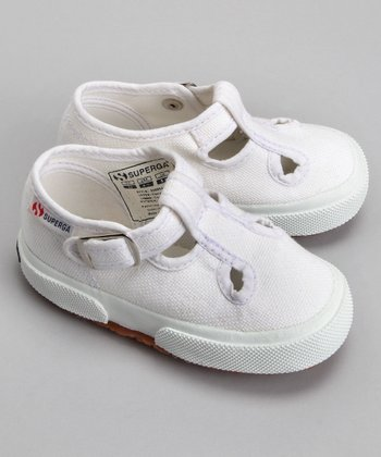 White 205 T-Strap - Toddler & Girls