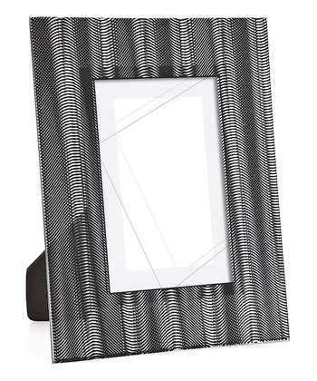 Black Wave 4'' x 6'' Picture Frame