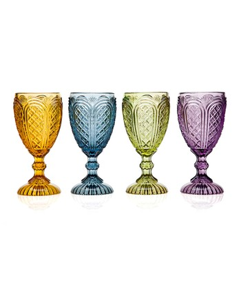 Cathedral Goblet Set