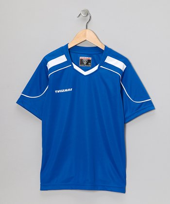 Royal Monaco Soccer Jersey - Kids & Adults