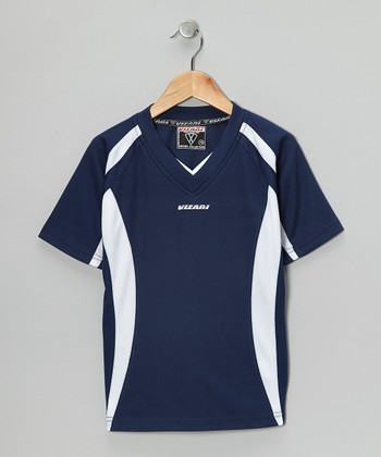 Navy City Soccer Jersey - Kids