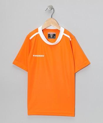 Vizari Orange Velez Soccer Jersey - Kids & Adult
