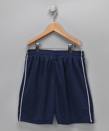 Navy Dynamo Shorts - Kids & Adult