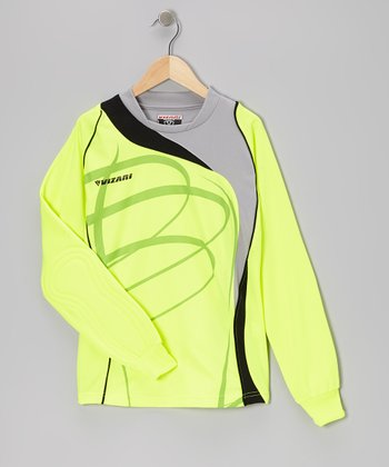 Yellow & Silver Catalina Goalkeeper Jersey - Kids & Adults