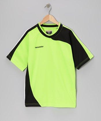 Vizari Green Cortez Short-Sleeve Goalkeeper Jersey - Kids & Adult