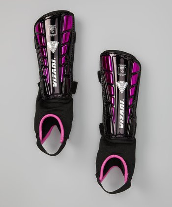 Black & Purple Preston Shin Guards