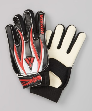 Black & Red Junior Pro Goalkeeper Gloves - Kids
