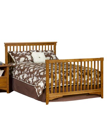 Oak Rose Valley Full Bed Rails