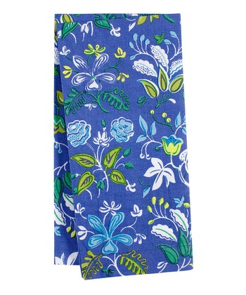 Ultramarine Botanical Floral Napkin - Set of Four