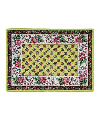 Jardin Quilted Place Mat - Set of Four