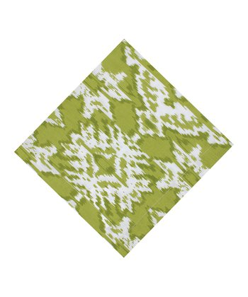 Lime Ikat Napkin - Set of Four
