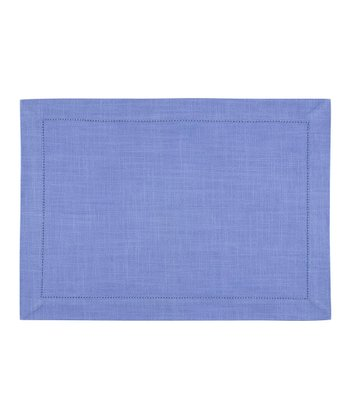 Periwinkle Rustic Place Mat - Set of Four