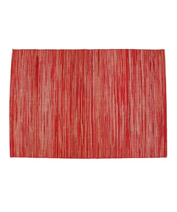 Red Place Mat - Set of Four