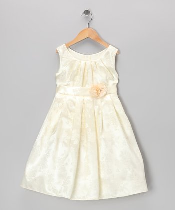 Ivory Rose Dress - Toddler & Girls