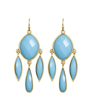 Turquoise Madeleine Drop Earrings