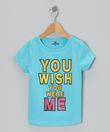 Blue 'You Wish' Tee - Infant & Toddler