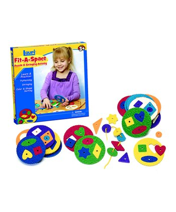 Fit-a-Space Puzzle & Stringing Activity Set