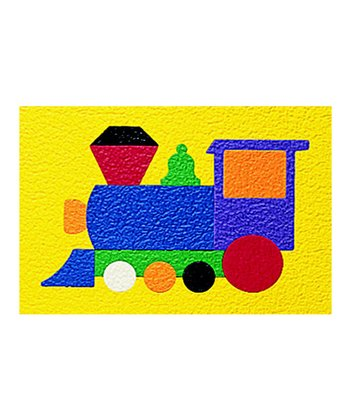 Train 13-Piece Crepe Rubber Puzzle