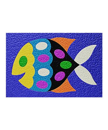 Fish 15-Piece Crepe Rubber Puzzle