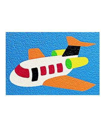 Airplane 14-Piece Crepe Rubber Puzzle