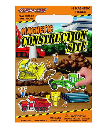 Construction Site Create-a-Scene Set