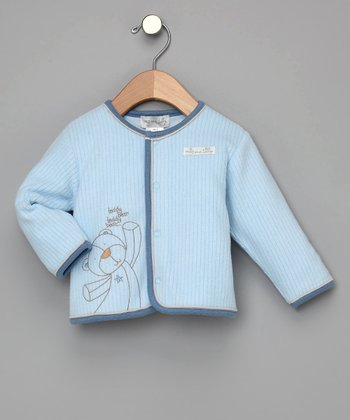 Max and Tilly - Blue Teddy Bear Jacket
