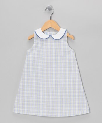 Blue & Kiwi A-Line Dress - Toddler