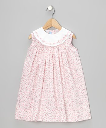 Pink Floral Float Dress - Infant & Toddler