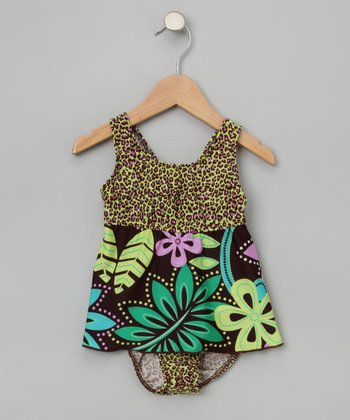 Bali Bay Ruffle Two-Piece Tankini - Toddler & Girls