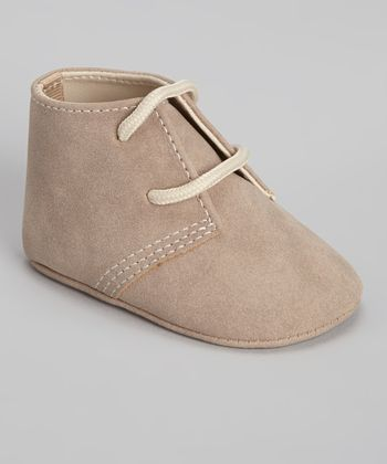Tan Faux Suede Soft-Sole Hiker Boot