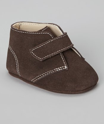 Brown Suede Hiker Shoe