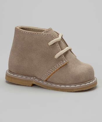 Tan Faux Suede Hiker Boot